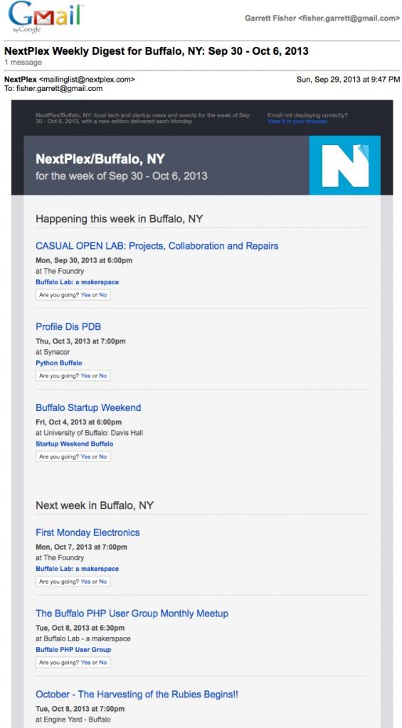 Nextplex Email